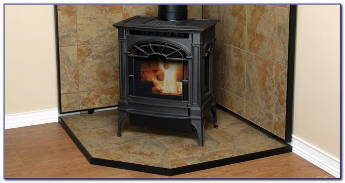 Wood Stove Floor Protector Flooring Home Design Ideas