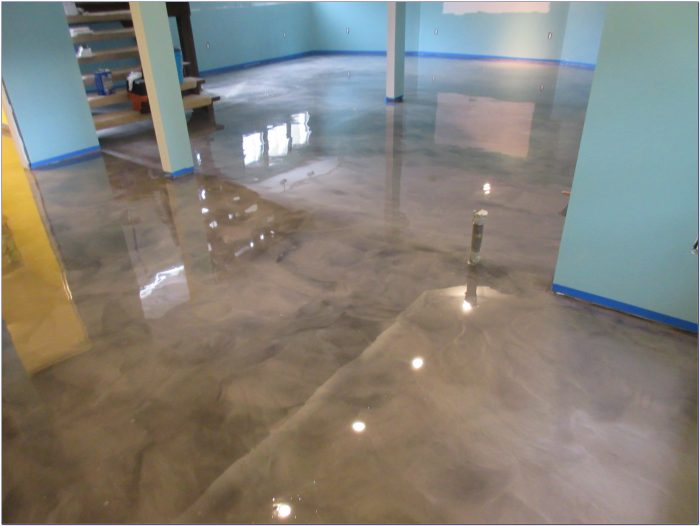 Epoxy Basement Floor Coating Rust Oleum