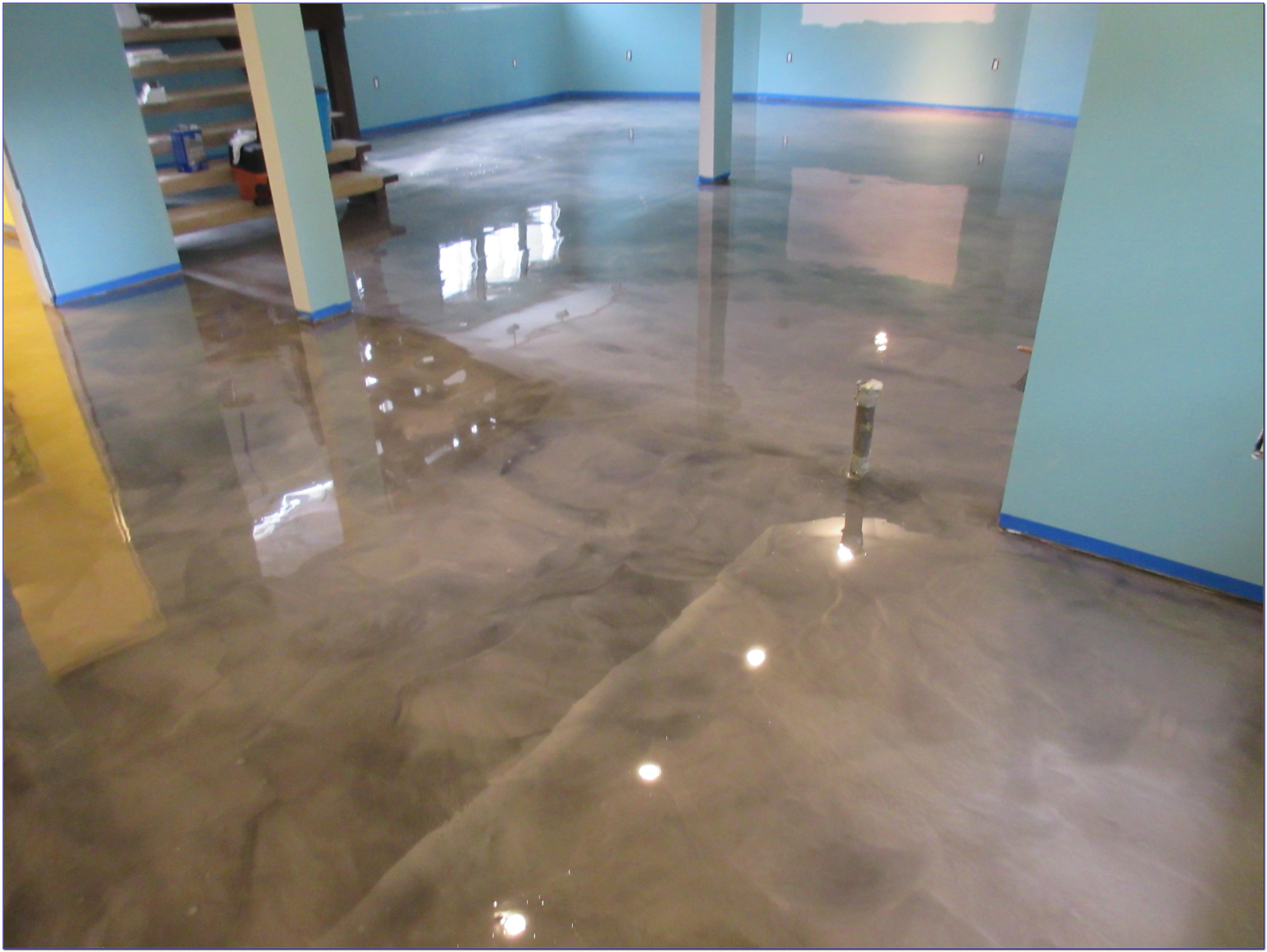 Epoxy Basement Floor Coating Rust Oleum