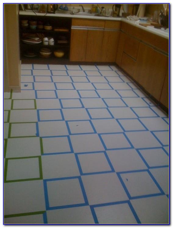 Epoxy Paint Ceramic Tile Floor