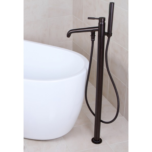 Floor Mount Tub Filler Installation