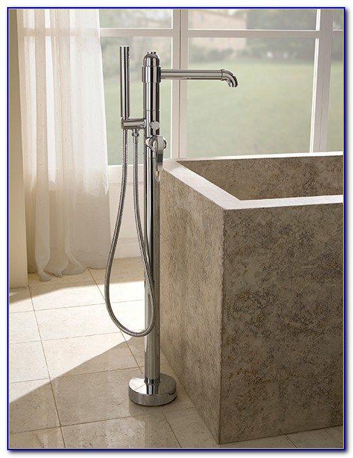 Floor Mounted Tub Filler Kohler