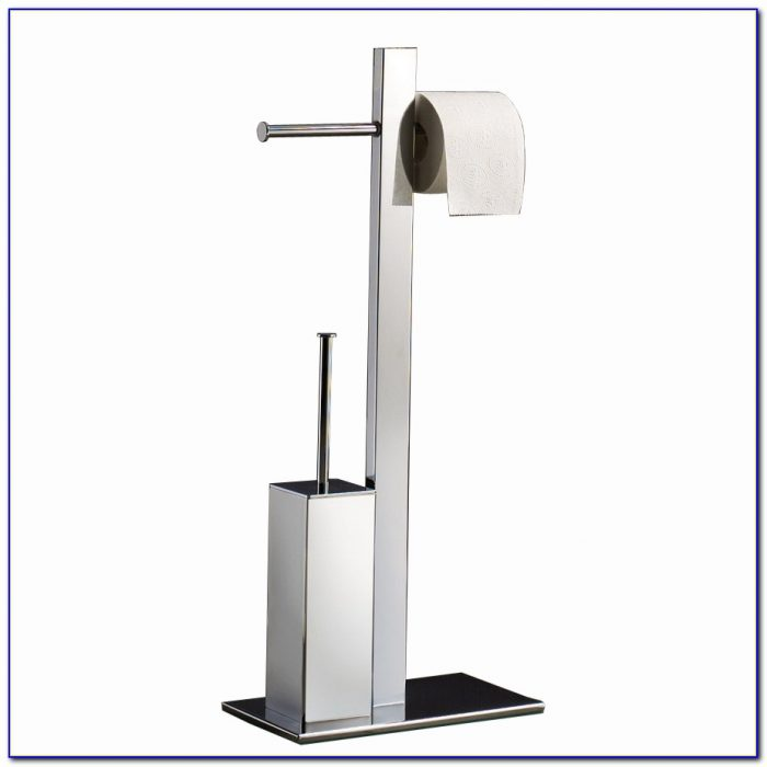 Floor Standing Toilet Paper Holder Flooring Home