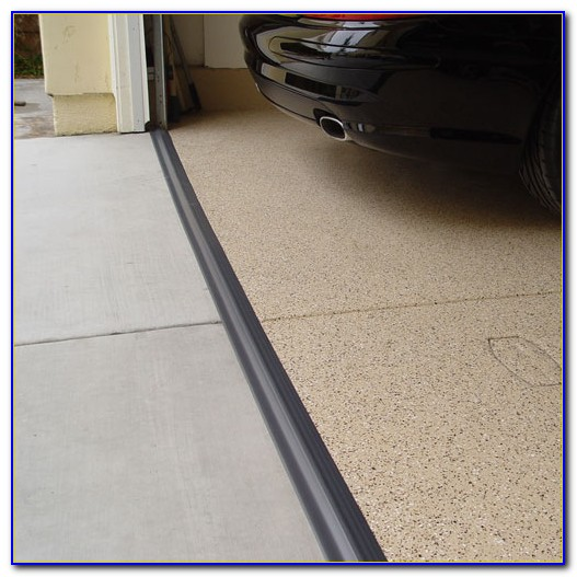 Garage Door Floor Seal