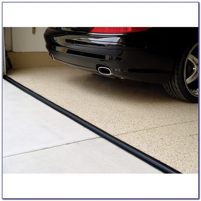 Garage Door Floor Sealer