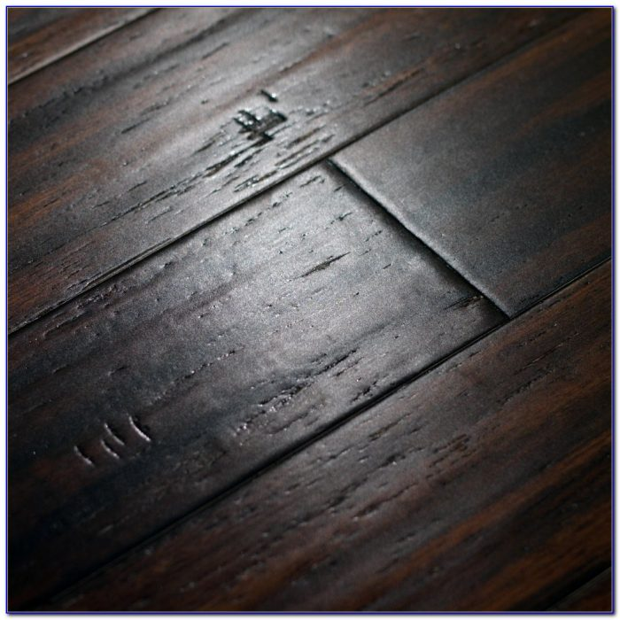 Hand Scraped Distressed Bamboo Flooring