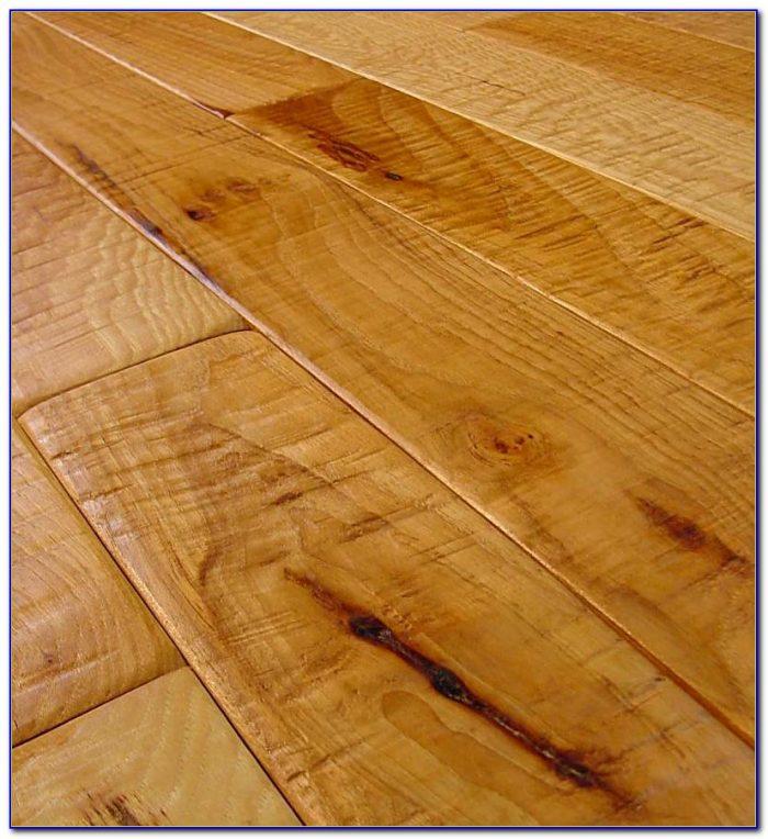 Hand Scraped Hardwood Floor