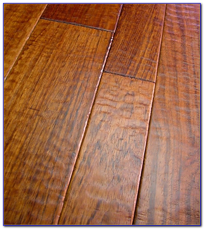 Hand Scraped Hardwood Floors Against The Grain