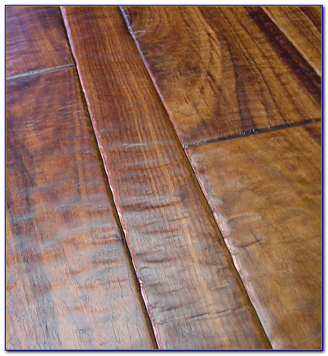 Hand Scraped Hardwood Floors Cleaning