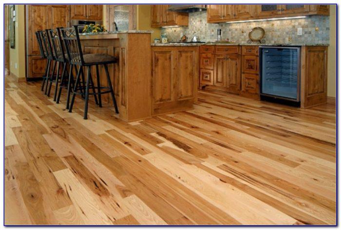 Hand Scraped Hickory Flooring Canada