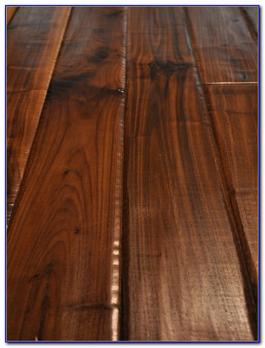 Hand Scraped Wood Floors Houston