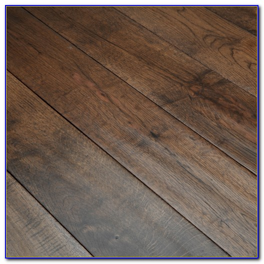 Hand Scraped Wood Floors Process