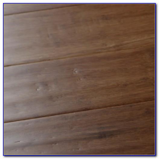 Hand Scraped Woven Bamboo Flooring