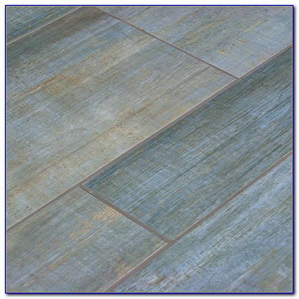Installing Ceramic Tile Floor That Looks Like Wood