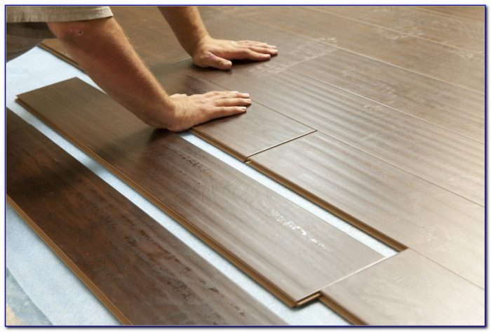 Installing Laminate Wood Flooring On Concrete