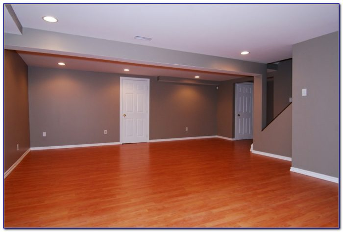 Laminate Flooring In Basement Cold