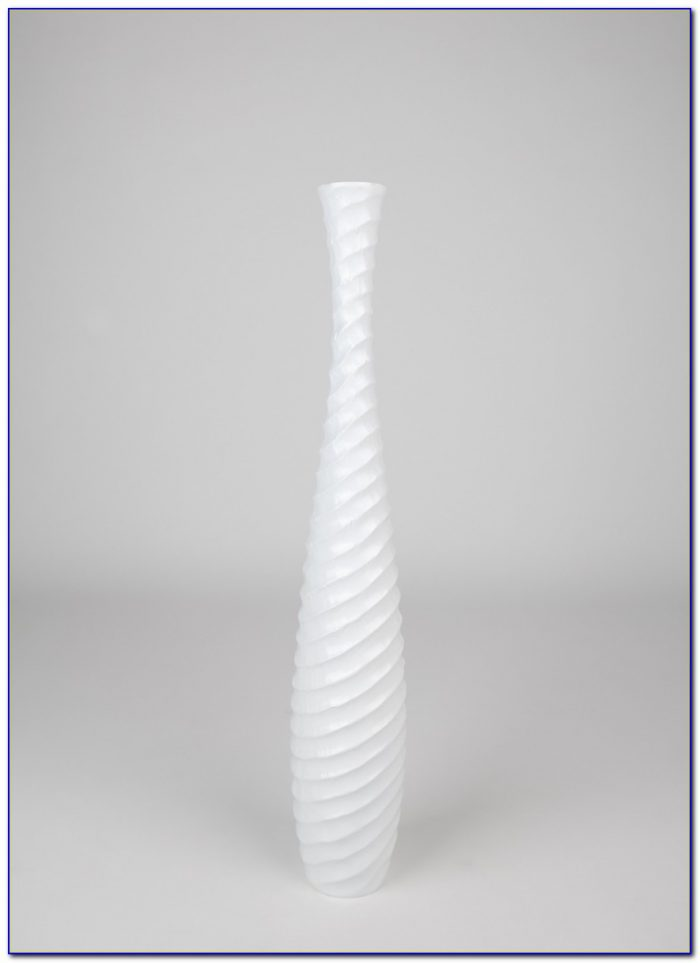 Tall White Ceramic Floor Vase Flooring Home Design