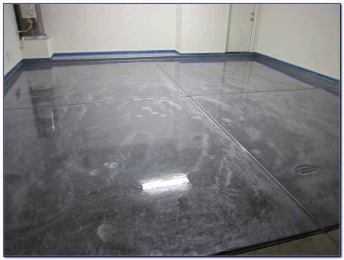 Metallic Epoxy Garage Floor Paint