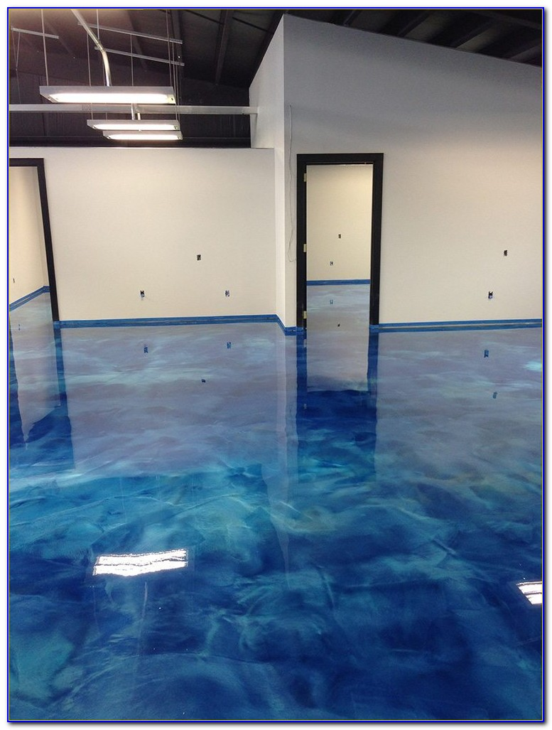 Metallic Fx Epoxy Garage Floor Coating