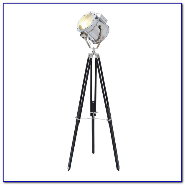 Movie Studio Tripod Floor Lamp
