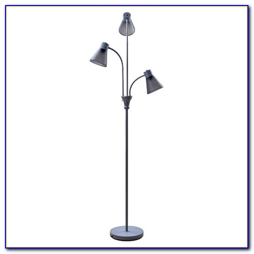 Multi Head Floor Lamp Bronze