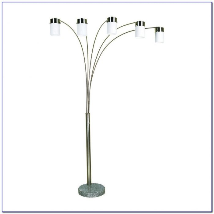 Ore International Floor Lamp Polished Brass