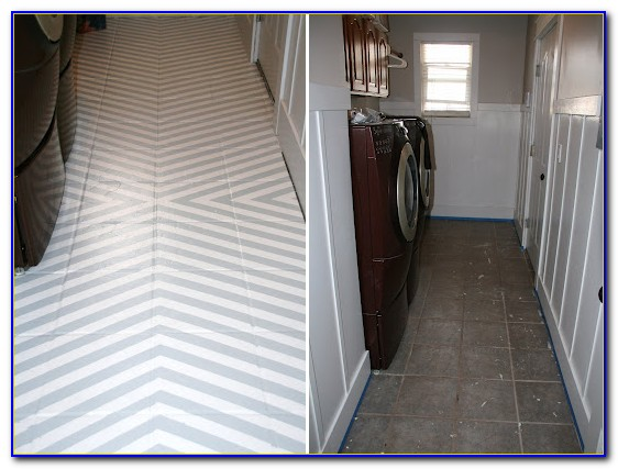 Painting Ceramic Floor Tile Grout