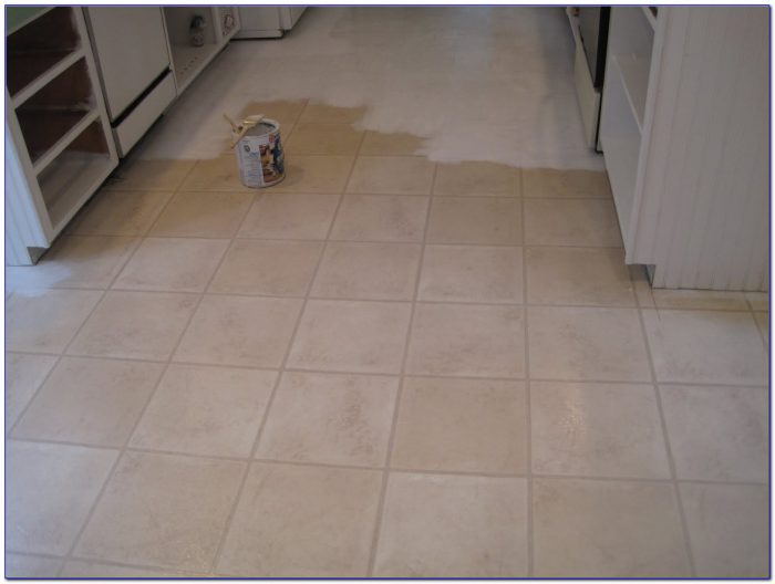 Painting Ceramic Floor Tiles Video