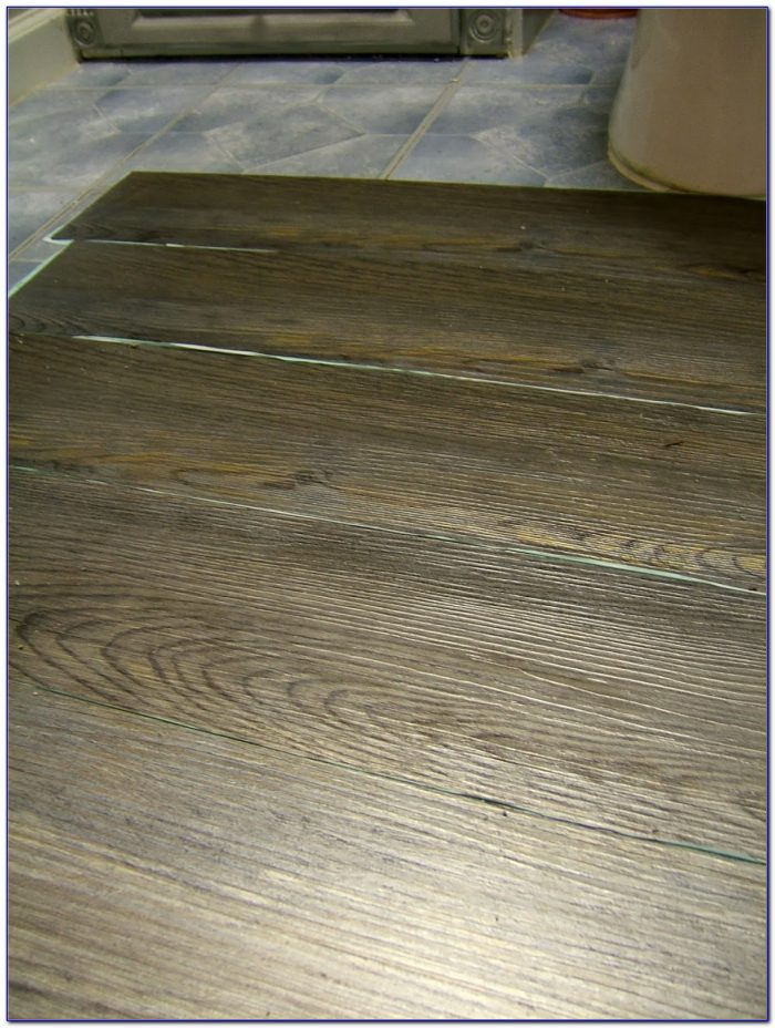 Peel And Stick Plank Flooring Grey