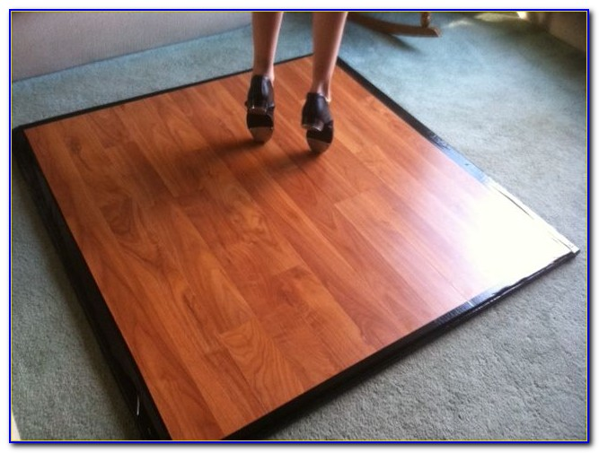 Portable Tap Dance Floor Diy