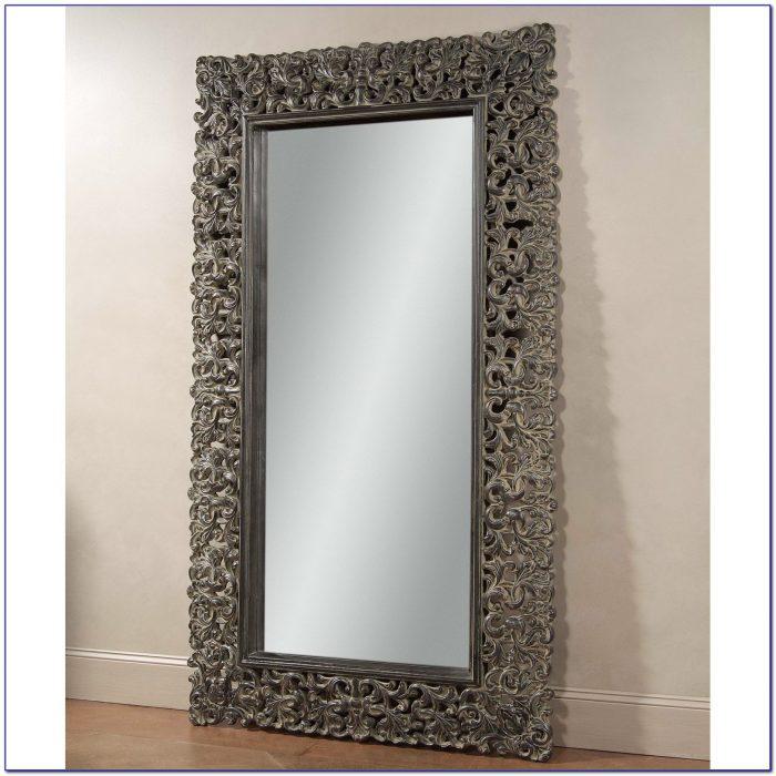 Oversized Leaner Floor Mirror Flooring Home Design