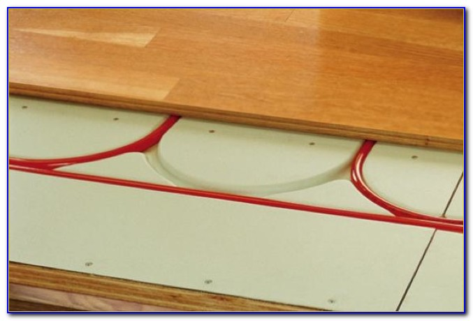 Radiant Heat Floor Panels