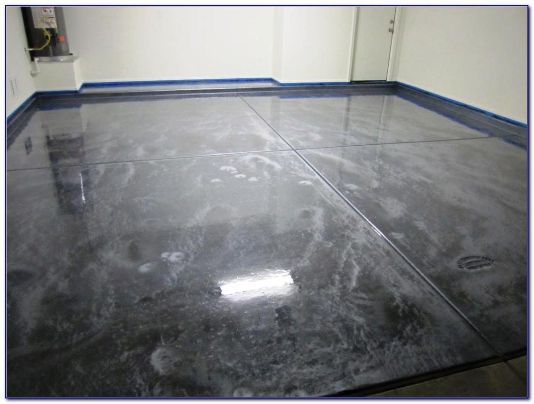 Rust Oleum Metallic Floor Coating