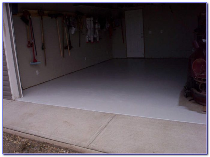 Sherwin Williams Concrete Garage Floor Paint