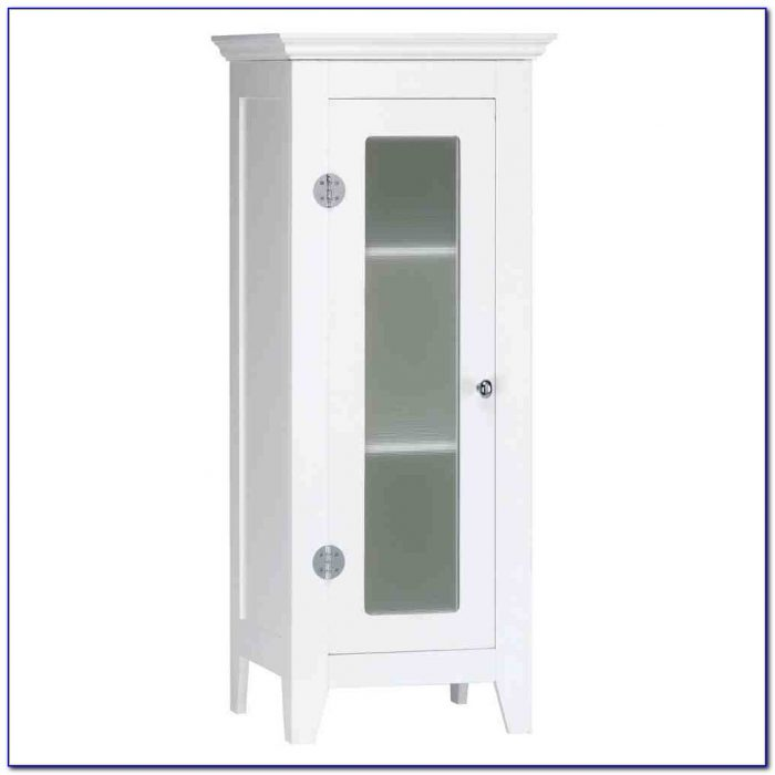 Bathroom floor standing storage cabinets flooring home for Floor standing corner bathroom cabinet