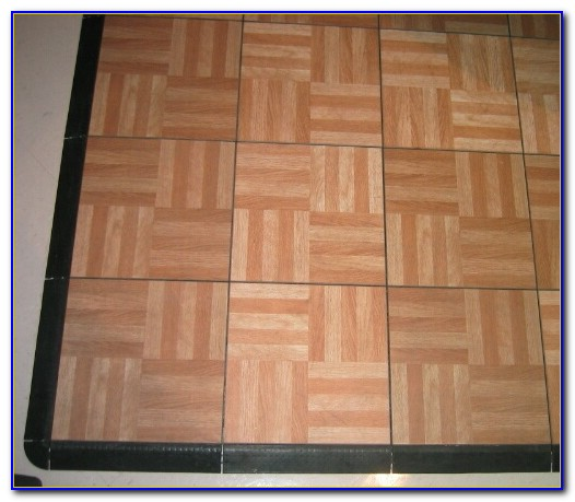 Snap Together Wood Flooring Video