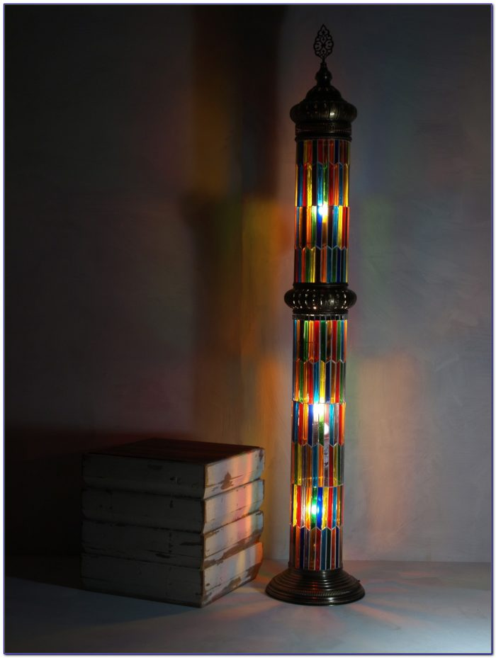 Small Stained Glass Desk Lamp Desk Home Design Ideas