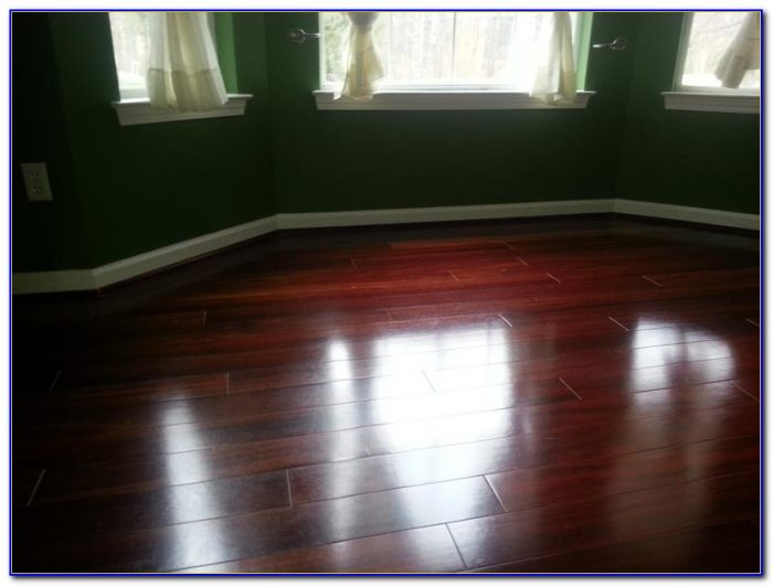Steam Clean Engineered Hardwood Floors