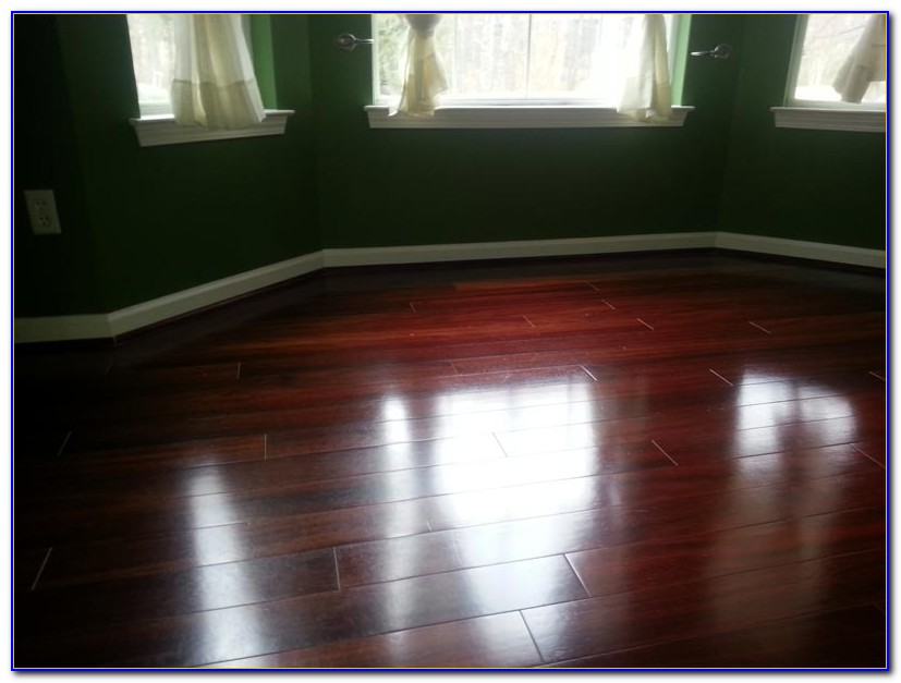 Steam Clean Engineered Hardwood Floors