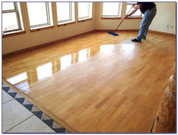 Steam Cleaning Oak Floors
