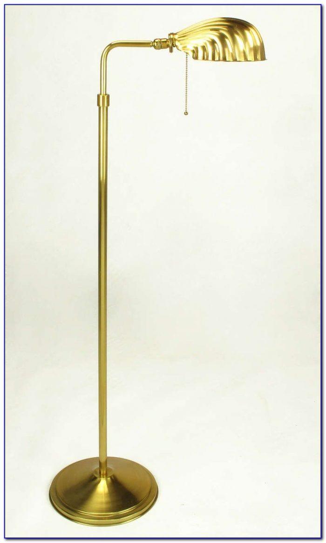 Stiffel Brass Pharmacy Floor Lamp