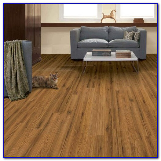 Traditional Living Natural Hickory Laminate Flooring