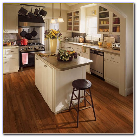 Traditional Living Laminate Flooring Natural Brazilian Cherry