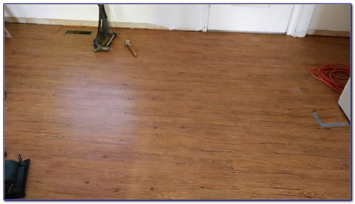 Trafficmaster Glueless Laminate Flooring Lakeshore Pecan