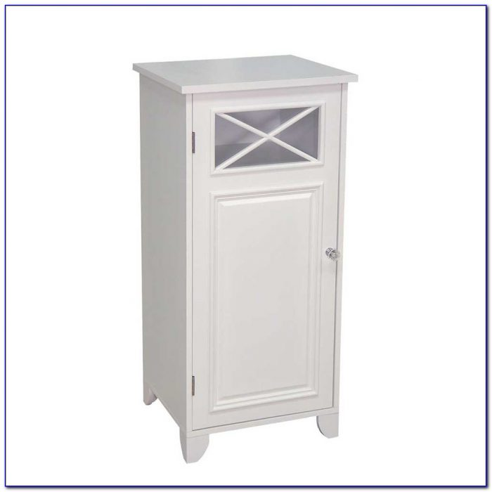 Very Small Bathroom Floor Cabinet