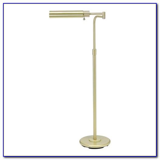 Vintage Brass Pharmacy Floor Lamp