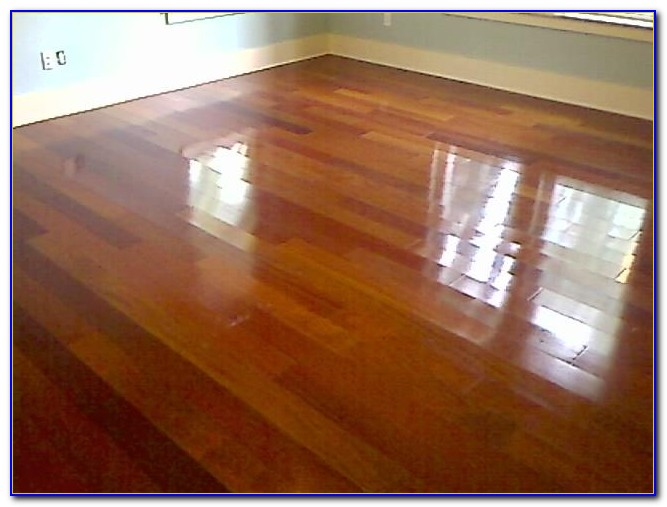 Wax Finish For Hardwood Floors