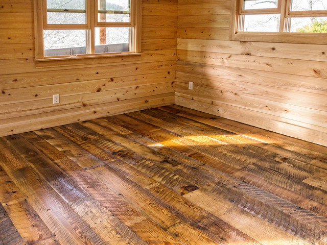 Wide Plank Pine Flooring Maine
