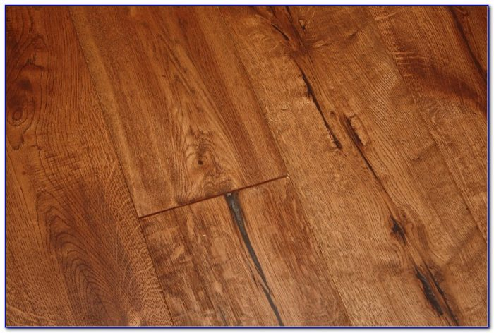 Wire Brushed French Oak Flooring