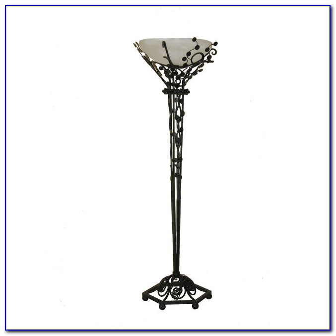 Wrought Iron Floor Lamp Rustic Flooring Home Design  : wrought iron floor lamp with leaf accents from www.anguloconsulting.com size 677 x 677 jpeg 31kB